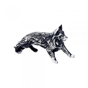 Сувенир из чернёного серебра с гравировкой, артикул 95250006
