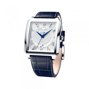Мужские серебряные часы, артикул 134.30.00.000.01.02.3