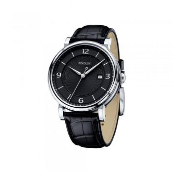 Мужские серебряные часы, артикул 101.30.00.000.04.01.3