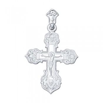 Крест из серебра, артикул 94120088