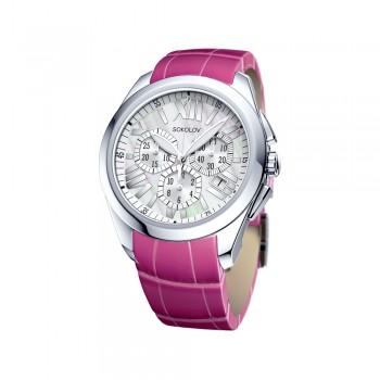 Женские серебряные часы, артикул 148.30.00.000.07.03.2