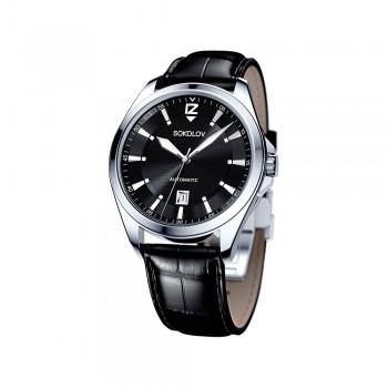 Мужские серебряные часы, артикул 150.30.00.000.04.01.3