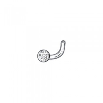 Пирсинг для носа из серебра