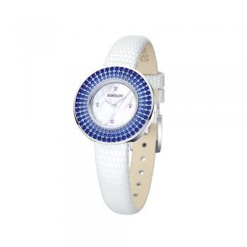 Женские серебряные часы, артикул 128.30.00.007.01.01.2