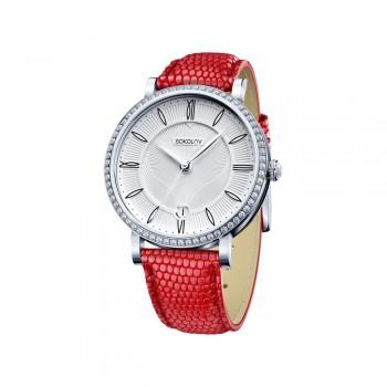 Женские серебряные часы, артикул 102.30.00.001.01.03.2
