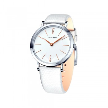 Женские серебряные часы, артикул 152.30.00.000.05.02.2