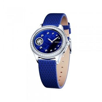 Женские серебряные часы, артикул 145.30.00.001.02.02.2