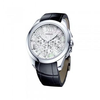 Женские серебряные часы, артикул 148.30.00.000.07.01.2