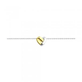 Браслет из серебра с фианитами, артикул 94050386