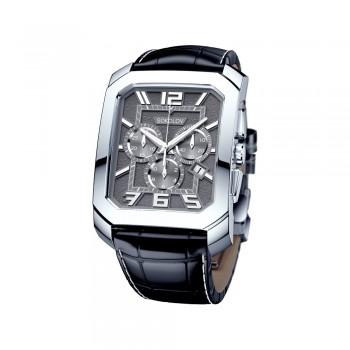 Мужские серебряные часы, артикул 144.30.00.000.06.01.3