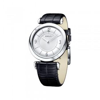 Женские серебряные часы, артикул 105.30.00.000.03.01.2