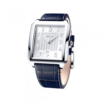 Мужские серебряные часы, артикул 134.30.00.000.03.02.3