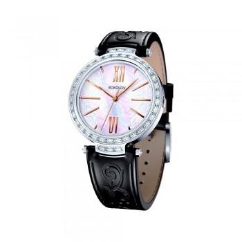 Женские серебряные часы, артикул 147.30.00.001.05.01.2