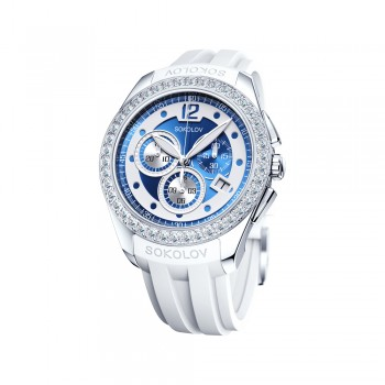 Женские серебряные часы, артикул 149.30.00.001.05.06.2