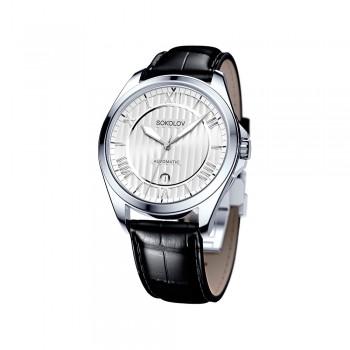 Мужские серебряные часы, артикул 150.30.00.000.01.01.3