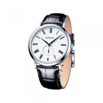 Мужские серебряные часы, артикул 151.30.00.000.01.01.3