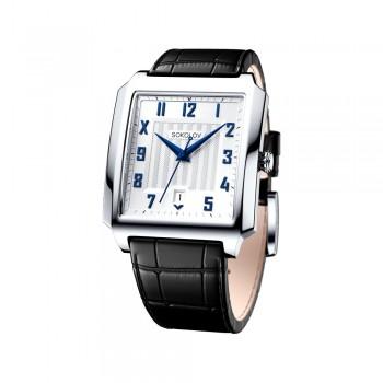 Мужские серебряные часы, артикул 134.30.00.000.04.01.3