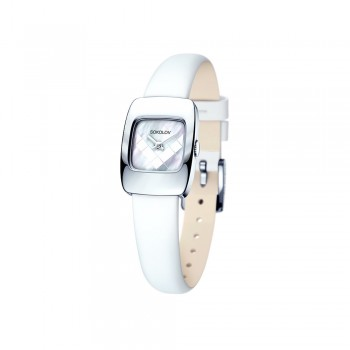 Женские серебряные часы, артикул 124.30.00.000.05.02.2