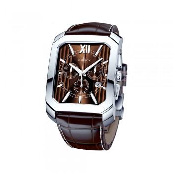 Мужские серебряные часы, артикул 144.30.00.000.04.02.3