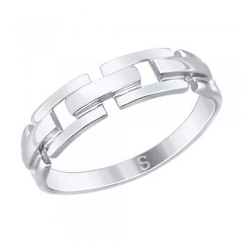 Кольцо из серебра, артикул 94012535