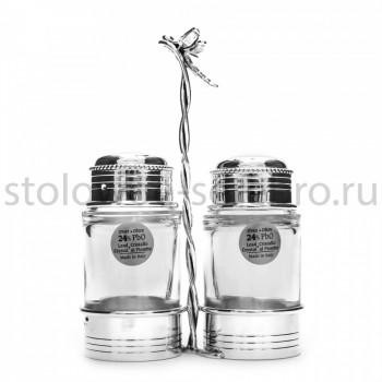 Серебряный набор для соли и перца Raddi  Стрекоза