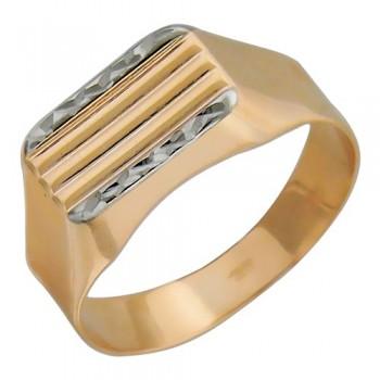 Кольцо из красного золота 585 пробы, артикул 01Т714714-КО
