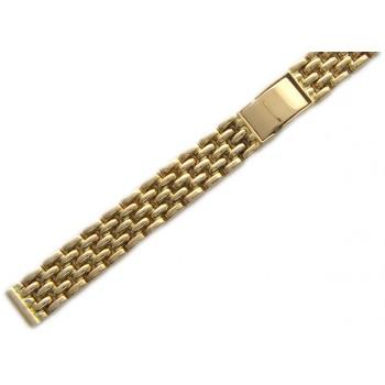 Браслет для часов из красного золота 585 пробы, артикул 01Е011067-БР