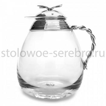 Серебряный чайник Raddi  Стрекоза