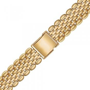 Браслет для часов из красного золота 585 пробы, артикул 01Е011413-БР
