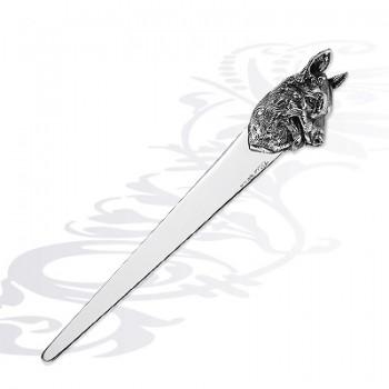 Нож для бумаги  Собака