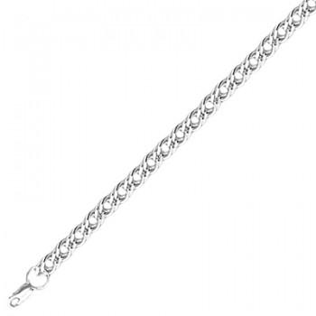 Цепь из серебра 925 пробы, артикул 04Ц056312Р-ЦЕ