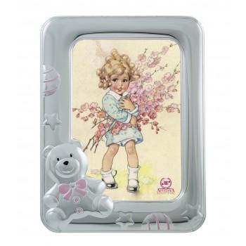 Рамка для фото  Мишка  (розовая)