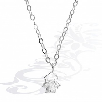 Детская цепочка  Кофточка  из серебра