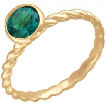 Кольцо из красного золота с 1 алпанитом весом 0,9 карат