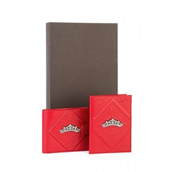 Набор из обложки на паспорт и кошелька  - Диадема