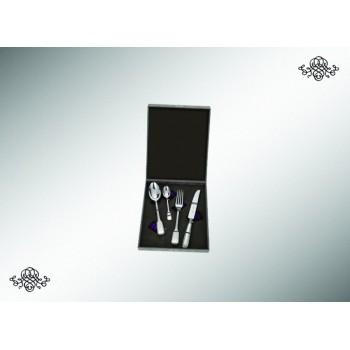 Серебряный набор столовый  Модерн  4 предмета