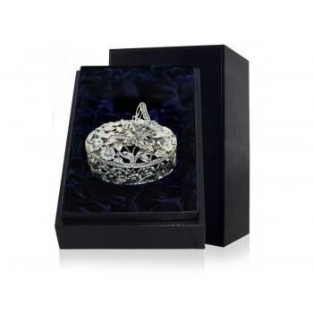 Серебряная шкатулка  - Бабочка с чернением