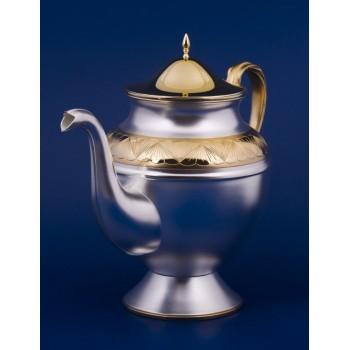 Серебряный чайник №7 Флора