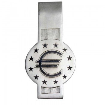 Зажим для банкнот  Евро
