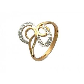 Кольцо из красного золота 585 пробы, артикул 01К714503-КО