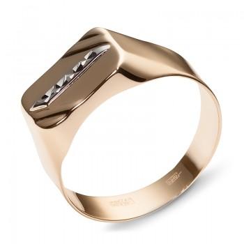 Кольцо из красного золота 585 пробы, артикул 01Т714713-КО