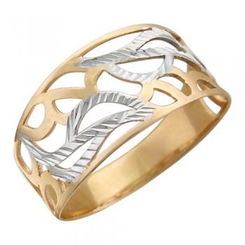 Кольцо из красного золота 585 пробы, артикул 01К716214-КО