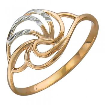 Кольцо из красного золота 585 пробы, артикул 01К717461-КО