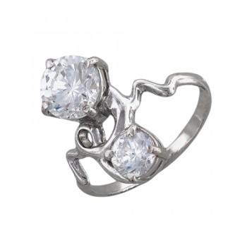 Кольцо из серебра 925 пробы, артикул 51К151713Р-КО