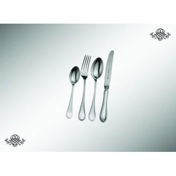 Серебряный десертный набор  Английский  из 4 предметов (юниор)