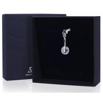 Серебряная ложка сувенирная  Загребушка