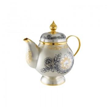 Серебряный чайник  Астра