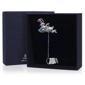 Ионизатор воды  - Коза с баяном с эмалью