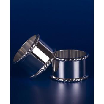 Серебряные кольца для салфеток №8