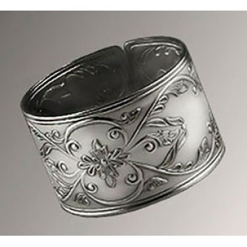 Серебряное кольцо для салфеток № 2
